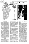 New Mexico Daily Lobo, Volume 075, No 96, 2/24/1972 by University of New Mexico