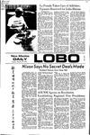 New Mexico Daily Lobo, Volume 075, No 99, 2/29/1972