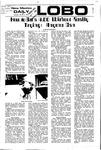 New Mexico Daily Lobo, Volume 075, No 103, 3/6/1972 by University of New Mexico