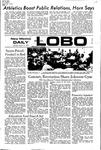 New Mexico Daily Lobo, Volume 075, No 108, 3/13/1972 by University of New Mexico