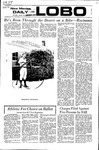 New Mexico Daily Lobo, Volume 075, No 111, 3/16/1972 by University of New Mexico