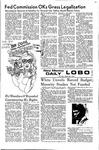 New Mexico Daily Lobo, Volume 075, No 116, 3/23/1972 by University of New Mexico