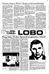 New Mexico Daily Lobo, Volume 075, No 118, 3/27/1972