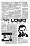 New Mexico Daily Lobo, Volume 075, No 118, 3/27/1972 by University of New Mexico