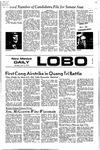 New Mexico Daily Lobo, Volume 075, No 121, 4/6/1972 by University of New Mexico