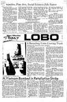 New Mexico Daily Lobo, Volume 075, No 122, 4/7/1972 by University of New Mexico