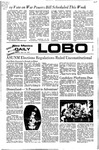New Mexico Daily Lobo, Volume 075, No 123, 4/10/1972