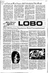 New Mexico Daily Lobo, Volume 075, No 123, 4/10/1972 by University of New Mexico