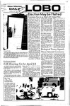 New Mexico Daily Lobo, Volume 075, No 124, 4/11/1972 by University of New Mexico