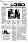 New Mexico Daily Lobo, Volume 075, No 125, 4/12/1972 by University of New Mexico
