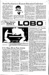 New Mexico Daily Lobo, Volume 075, No 130, 4/19/1972 by University of New Mexico