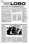 New Mexico Daily Lobo, Volume 075, No 131, 4/20/1972 by University of New Mexico