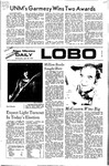 New Mexico Daily Lobo, Volume 075, No 135, 4/26/1972 by University of New Mexico