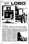 New Mexico Daily Lobo, Volume 075, No 139, 5/2/1972 by University of New Mexico