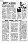 New Mexico Daily Lobo, Volume 075, No 144, 6/10/1972 by University of New Mexico