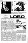 New Mexico Daily Lobo, Volume 075, No 145, 6/15/1972