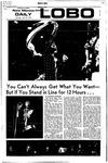 New Mexico Daily Lobo, Volume 075, No 146, 6/22/1972 by University of New Mexico