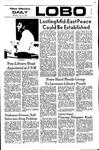 New Mexico Daily Lobo, Volume 075, No 149, 7/13/1972 by University of New Mexico