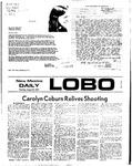 New Mexico Daily Lobo, Volume 076, No 1, 8/24/1972 by University of New Mexico
