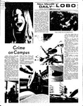 New Mexico Daily Lobo, Volume 076, No 2, 8/28/1972