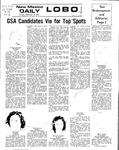 New Mexico Daily Lobo, Volume 076, No 16, 9/18/1972 by University of New Mexico