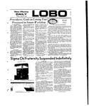 New Mexico Daily Lobo, Volume 077, No 2, 8/27/1973