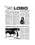 New Mexico Daily Lobo, Volume 077, No 9, 9/6/1973
