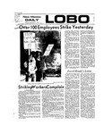 New Mexico Daily Lobo, Volume 077, No 12, 9/11/1973 by University of New Mexico