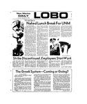 New Mexico Daily Lobo, Volume 077, No 14, 9/13/1973 by University of New Mexico