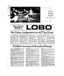 New Mexico Daily Lobo, Volume 077, No 16, 9/17/1973