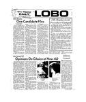 New Mexico Daily Lobo, Volume 077, No 19, 9/20/1973 by University of New Mexico