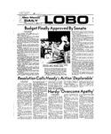 New Mexico Daily Lobo, Volume 077, No 20, 9/21/1973 by University of New Mexico