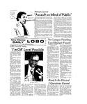 New Mexico Daily Lobo, Volume 077, No 25, 9/28/1973 by University of New Mexico