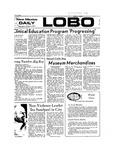 New Mexico Daily Lobo, Volume 077, No 28, 10/3/1973 by University of New Mexico