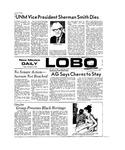 New Mexico Daily Lobo, Volume 077, No 30, 10/5/1973 by University of New Mexico