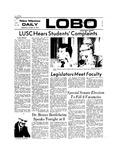 New Mexico Daily Lobo, Volume 077, No 33, 10/10/1973 by University of New Mexico