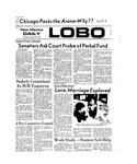 New Mexico Daily Lobo, Volume 077, No 36, 10/15/1973