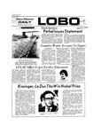 New Mexico Daily Lobo, Volume 077, No 38, 10/17/1973