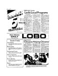 New Mexico Daily Lobo, Volume 077, No 40, 10/19/1973