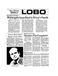 New Mexico Daily Lobo, Volume 077, No 42, 10/23/1973