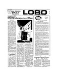 New Mexico Daily Lobo, Volume 077, No 45, 10/26/1973