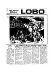 New Mexico Daily Lobo, Volume 077, No 48, 10/31/1973