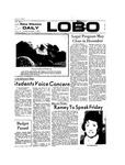 New Mexico Daily Lobo, Volume 077, No 49, 11/1/1973