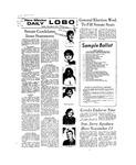 New Mexico Daily Lobo, Volume 077, No 52, 11/6/1973