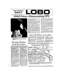New Mexico Daily Lobo, Volume 077, No 54, 11/8/1973