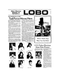 New Mexico Daily Lobo, Volume 077, No 55, 11/9/1973