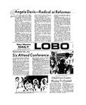 New Mexico Daily Lobo, Volume 077, No 58, 11/14/1973