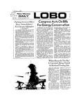 New Mexico Daily Lobo, Volume 077, No 65, 11/29/1973