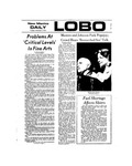 New Mexico Daily Lobo, Volume 077, No 68, 12/4/1973
