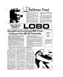 New Mexico Daily Lobo, Volume 077, No 71, 12/7/1973